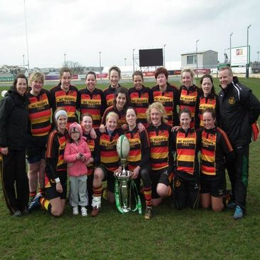 Sligo Women - winners of the 2012 invitational cup