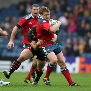 Munster prop Stephen Archer