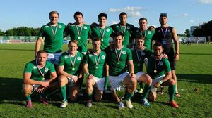 Ireland Men's Sevens Team v Serbia, Rugby Europe Division B Final, Zagreb, Croatia, Sunday, June 21, 2015