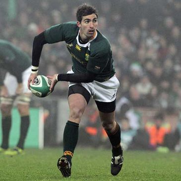 South African scrum half Ruan Pienaar