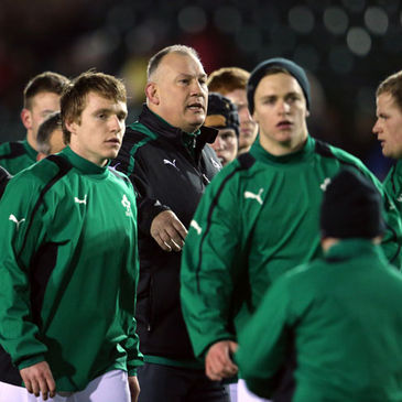 Ireland Under-20 head coach Mike Ruddock