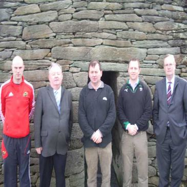 The launch of grant aid for Rugbai Chorca Dhuibhne