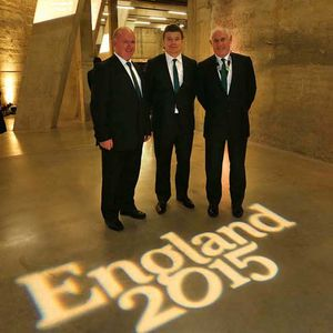 2015 Rugby World Cup Pool Allocation Draw, Tate Modern, London, Monday, December 3, 2012