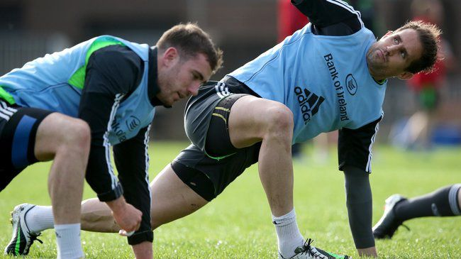 Smith And Hanrahan Take Centre Stage For Munster