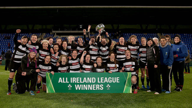 Old Belvedere Women Retain All-Ireland League Crown