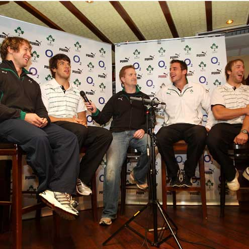 The Supporters Club Q&A in Jerry Flannery's bar