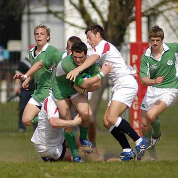 England beat Ireland 23-12 at last year's U-18 Six Nations Festival in Glasgow