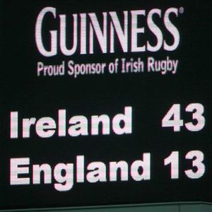 In Pics: Ireland v England 2007 RBS 6 Nations