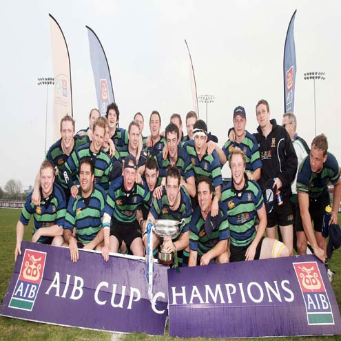 Seapoint won the AIB Junior Cup in 2007