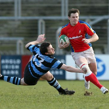 Ben Martin on the attack for UL Bohemians