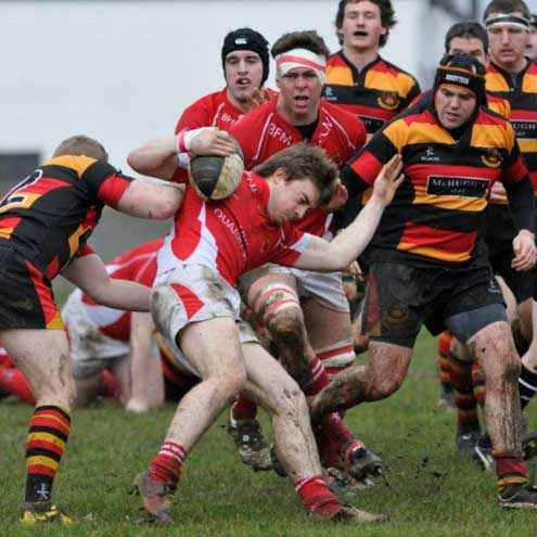 Action from Cashel's league clash with Sligo