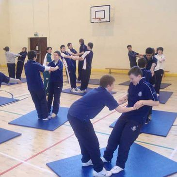 Sligo Grammar get physical