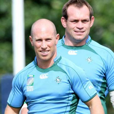 Peter Stringer and Simon Best