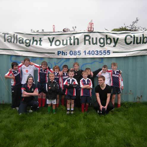 Members of the Tallaght minis in Kiltipper