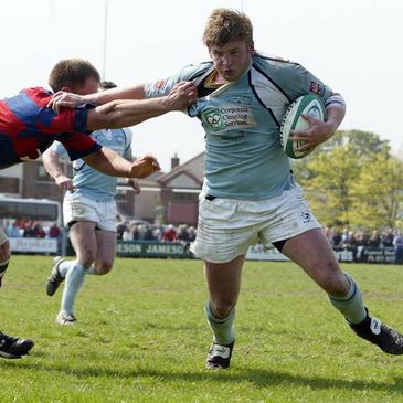 Action from Saturday's clash between Clontarf and Garryowen at Castle Avenue