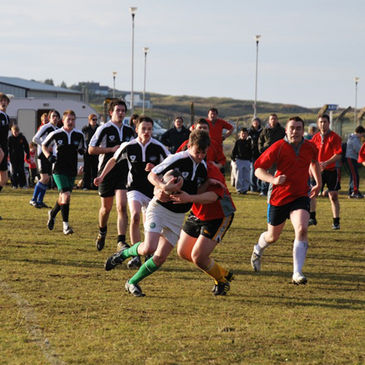Action from the Tir Chonaill v Finn Valley tie