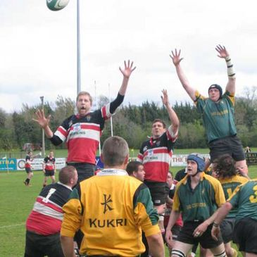 Lineout action from the Towns Plate final