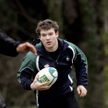 Gordon D'Arcy at training