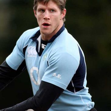 Simon Easterby at training