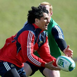 Munster Squad Training At The University Of Limerick, Tuesday, April 1, 2008