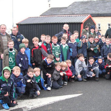 The Tullamore youngsters enjoyed their trip to the Aviva Stadium