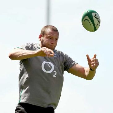 Dan Tuohy touched down against the All Blacks