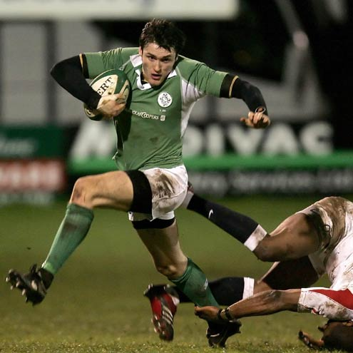 Shane Monahan on the attack for the Under-20s