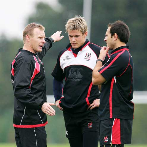 Ulster Squad Training At Newforge, Belfast, Tuesday, October 2, 2007
