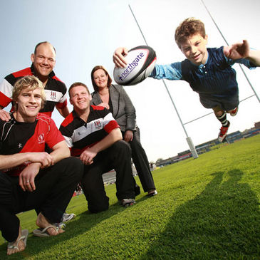 The launch of the Northgate Managed Services Mini Rugby Festival