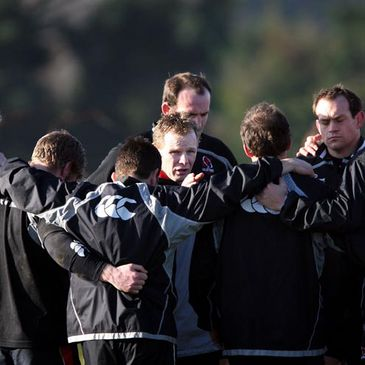 Mark McCall and the Ulster Sqaud