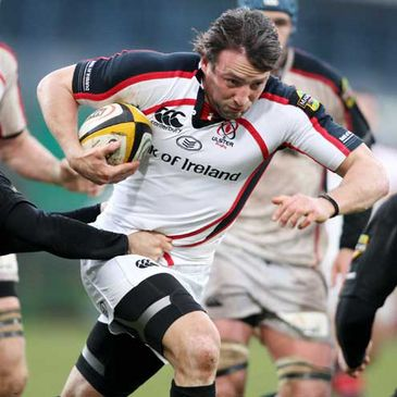 Neil Best on the attack for Ulster against Connacht