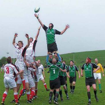 Action from the Connacht-Ulster fixture