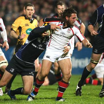 Isaac Boss in action for Ulster against Leinster last week
