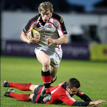 Andrew Trimble in action for Ulster
