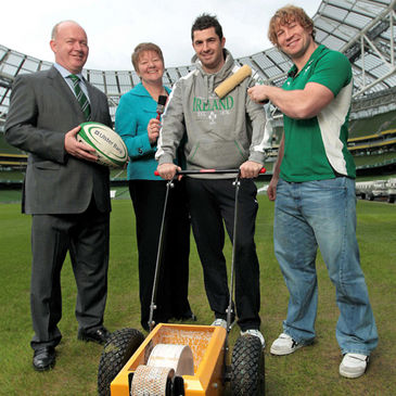 Ulster Bank launch the Community Rugby Partnership at the Aviva Stadium