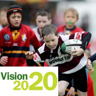 The IRFU have launched their Vision 2020 initiative