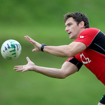 David Wallace training in Bray