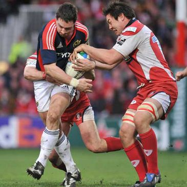 David Wallace in action against Gloucester last weekend