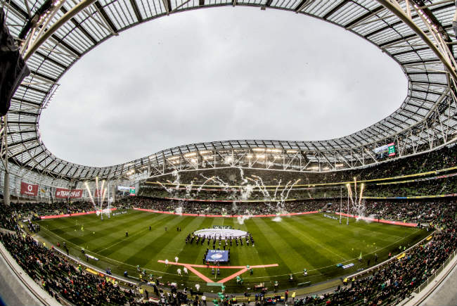 Irish Rugby Ticket Information