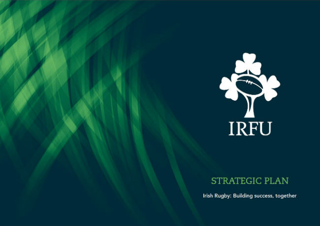 IRFU Strategic Plan 2018 - 2023 Building Success, Together