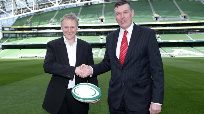 Joe Schmidt and Philip Browne