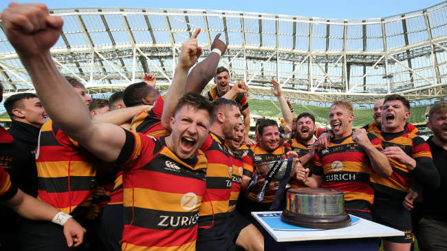 Lansdowne win the Ulster Bank League in 2018